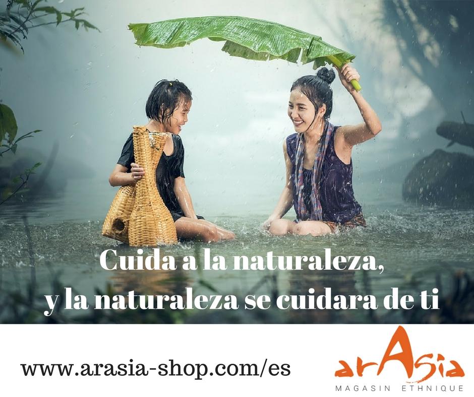 Cuida a la naturaleza...