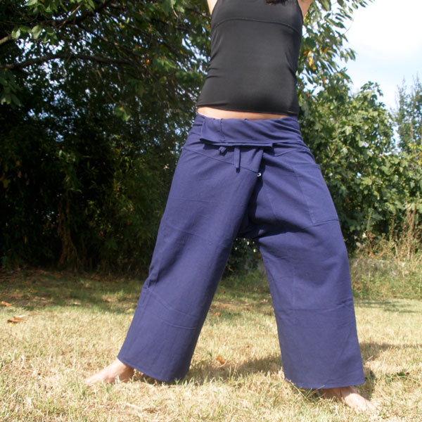 pantalon tailandes azul marino