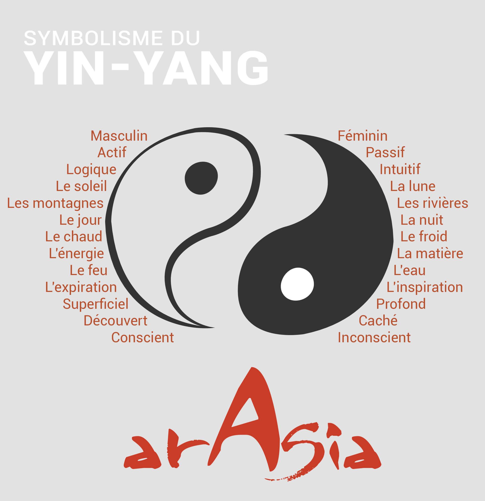 bague massante yin yang