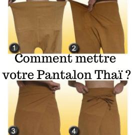95,91|Mettre son pantalon Thaï