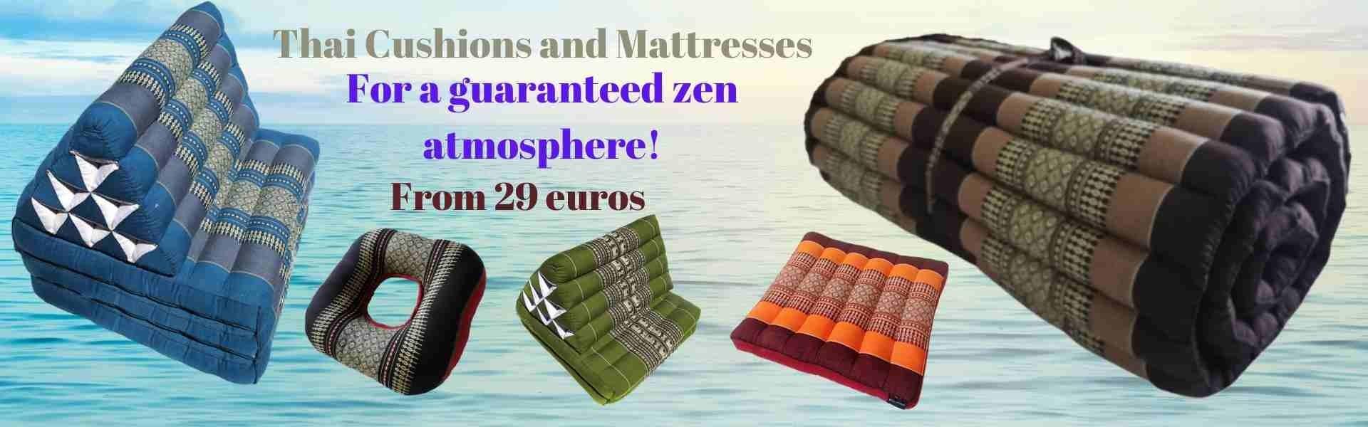 thai cushions and mattresses